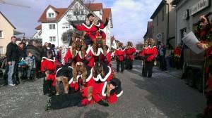 Fasching Umzug Fellbach 2017